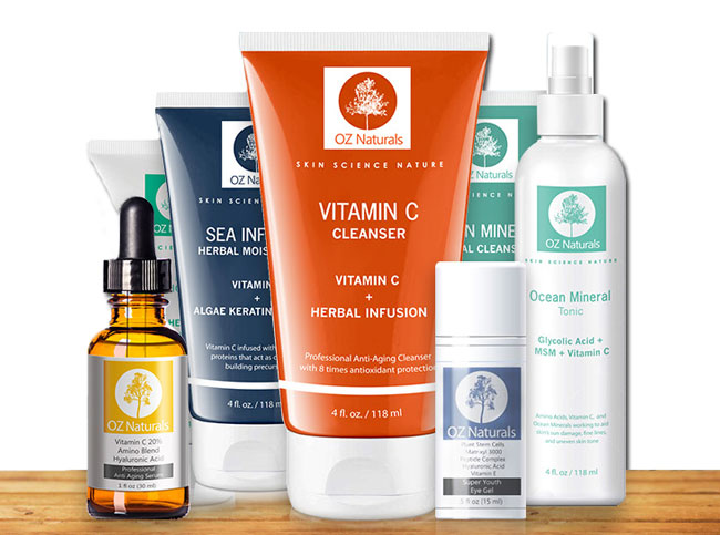 The Best in Natural Skin Care – OZNaturals